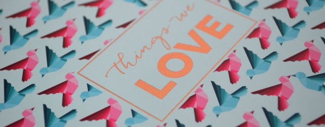 Carte Things We Love Birchbox