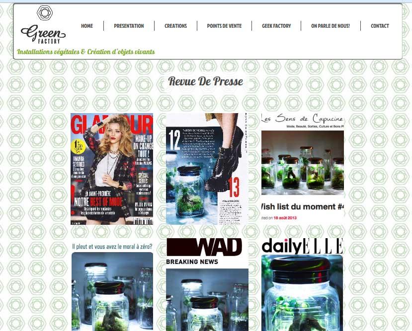 Revue de presse green factory