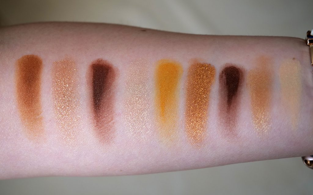 Brown Obsessions tofee Huda Beauty swatches