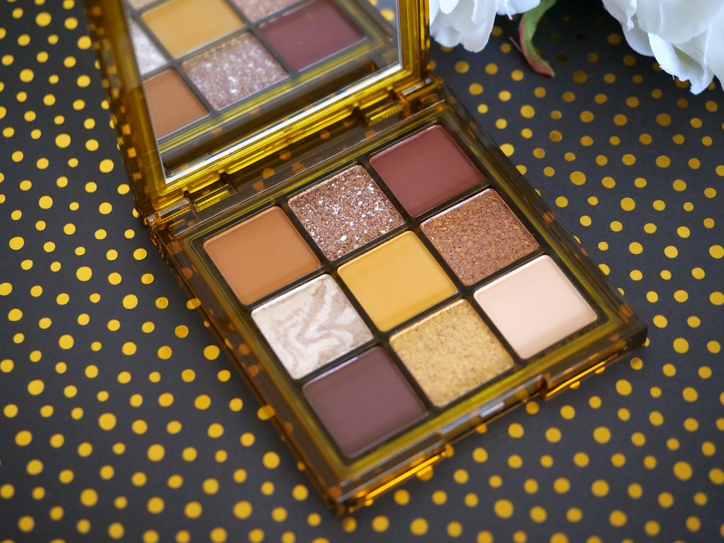 Brown Obsessions tofee Huda Beauty fards