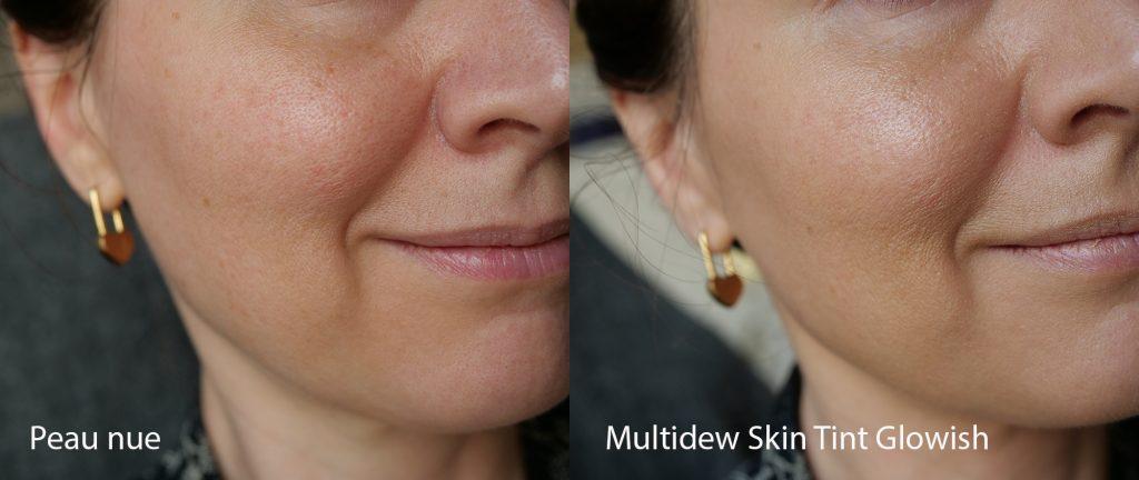 Multidew Skin Tint Glowish Fair Light 02 swatch
