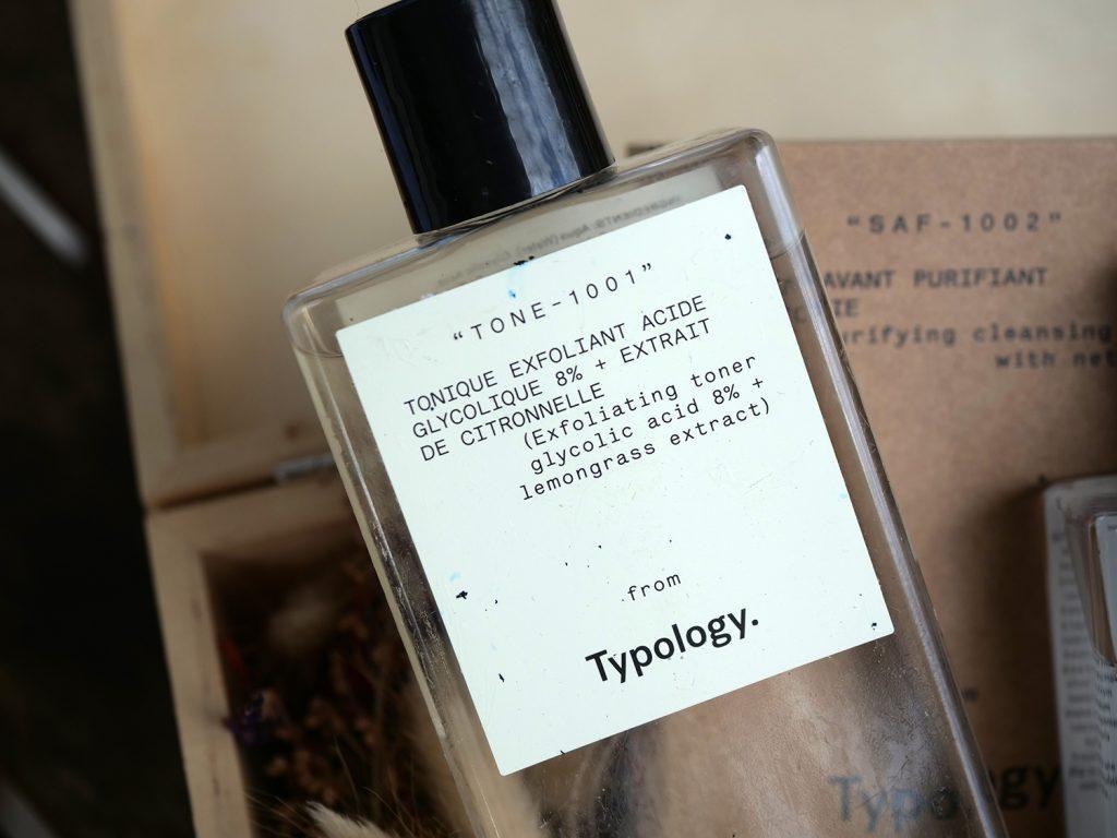 Tonique exfoliant - acide glycolique 8% Typology avis